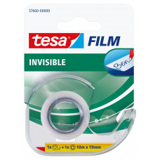 Lepiaca páska TESA Invisible 19mm x 10m neviditeľná + dispenzor