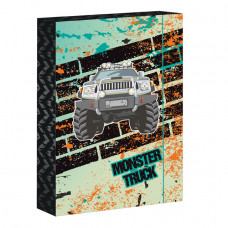 Box školský Monster Truck A4