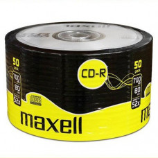 CD-R Maxell Printable NO-ID 52x 700MB, 80min. /50ks spindel 624043