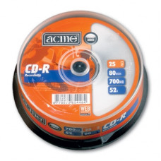 CD-R ACME 52x 700MB, 80min. /25ks cake box