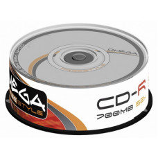 CD-R Omega 52x 700MB, 80min. /50ks cake box