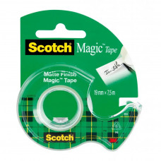 Lepiaca páska Scotch Magic s dispenzorom 19mm x 7,5m transparentná