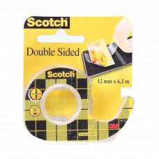 Lepiaca páska Scotch obojstranná 12mm x 6,3m + dispenzor