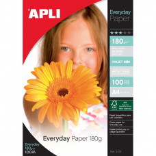 Fotopapier APLI EVERYDAY lesklý A4/180g/20ks