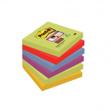 Bloček samolepiaci Post-it Super Sticky 76 x 76mm/6ks /Marrakesh/