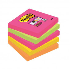 Bloček samolepiaci Post-it Super Sticky 76 x 76 mm/5ks /Kapské Mesto/